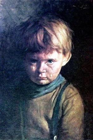 Плачещото момченце