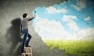 Когато започнем да мислим положително, виждаме колко пагубно са се отразявали отрицателните мисли