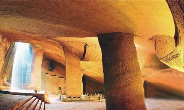 Пещерите Лонгю (Longyou) – едно от мистериозните чудеса на древния свят