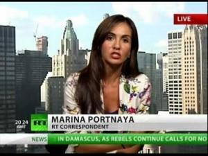 Марина Портная – кореспондент на RT