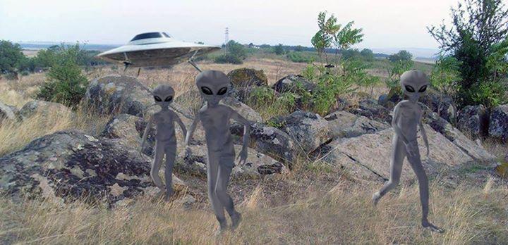Край Скалица чакаха извънземните да дойдат