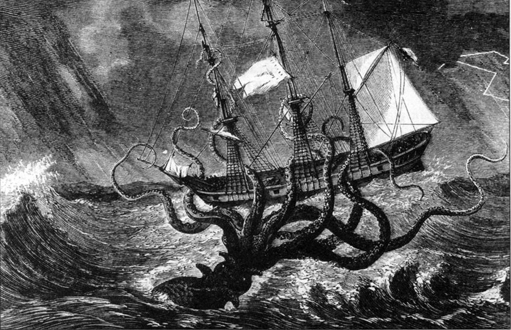 Кракен – съществува ли наистина или е само мит?