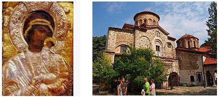 света богородица умиление бачковски манастир