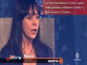 Марина Тонини разказва за контакта си с извънземните