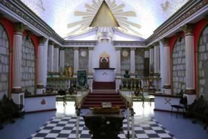 Тайна церемония в масонски ложи