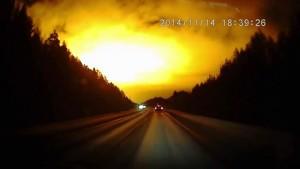 Заснеха странни светлини над Урал