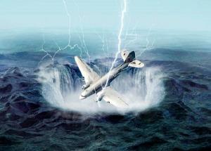 Много летателни и плавателни съдове за изчезвали в Бермудския триъгълник