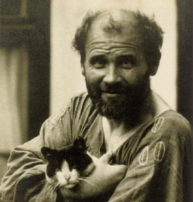 Густав Климт – странният гений, обсебен от котки