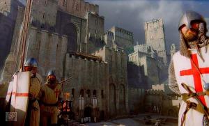 Защитата на Ерусалим – сн. от филма Небесно царство