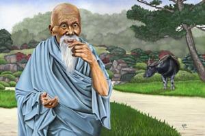 """Името на Лао Дзъ буквално означава """"стар мъдрец"""" и се смята за почетно звание"""