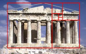 Златното сечение или числата на Фибоначи (фи = 1,618…)