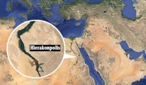 В древния град Хиераконполис е открита гробница с мумия от времето преди първата династия на фараоните