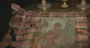 Чудотворната икона в Лопушанския манастир