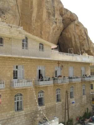 Манастирът Мар Текла, Маалуля, Сирия, 2009 г.