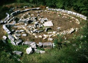 Храма на Мишкова нива в Странджа
