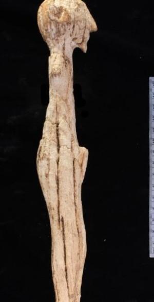 Статуя от слонова кост отпреди първата династия на фараоните е намерена в гробницата