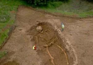 Откриването на гигантски скелети е пазено в тайна