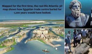 Древният град Ираклион – богато находище на артефакти за археолози.