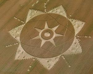 Твърди се, че житните кръгове са дело на извънземни