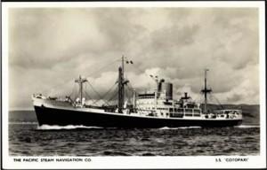 SS Cotopaxi – американския кораб изчезнал в района през 1926 г
