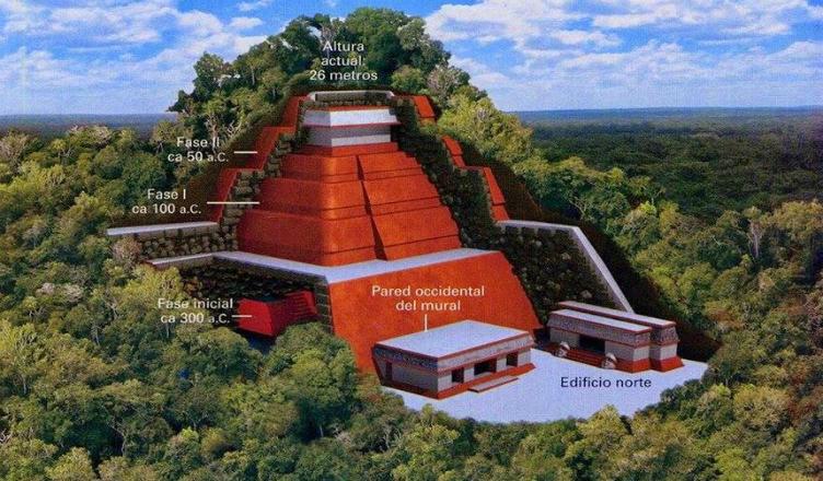 Най-голямата пирамида на маите – открита в Мексико