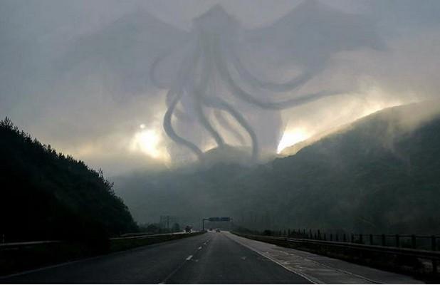 """Извънземни или природен феномен над АМ """"Тракия"""""""