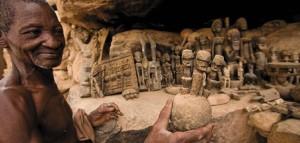 Древните антики на Догоните - най-скъпи в Африка
