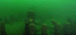 Подводните скали на езерото Мичиган