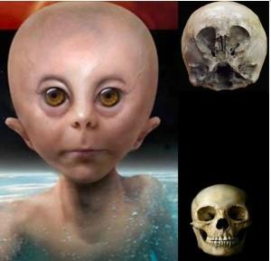 Криминалистична реконструкция по черепа. Така би изглеждало Звездното дете