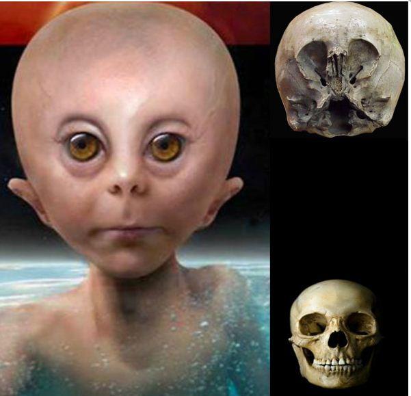 Мистерията на Звездното дете (СНИМКИ)