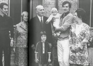 Цялото семейство на Тодор Живков