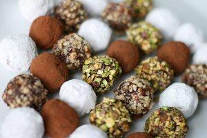 шоколадови бонбони трюфели
