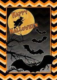 Картичка за Вашето Хелоуин парти може да закупите или да си изработите сами