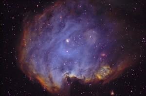 Мъглявината NGC 2174 в съзвездие Орион