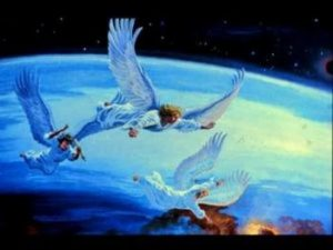 Вестите на ангелите от Откровение 14-та глава предупреждават срещу предстоящото фалшиво религиозно поклонение и приемане на белега на звяра.
