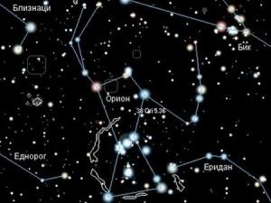 Една концепция за красивото съзвездие Орион като врата към рая и други светове.