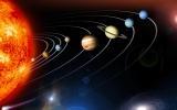 слънчева система макет (модел)