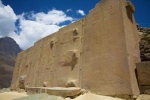 Олантайтамбо. Храмът на Слънцето.