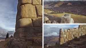 Саксауаман. Забележете колко добре древните строители са поставили структурите. Такава точност е невероятна.