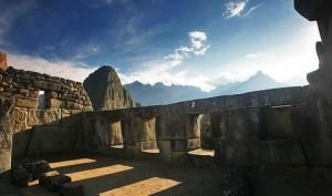 Храмът на трите прозорци Мачу Пикчу, Перу.