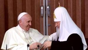 Срещата на папата с руския патриарх Кирил в Куба е една крачка напред на Ватикана към обединението на църквите и Нов световен ред