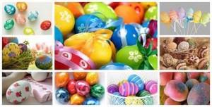 боядисване на яйца за Великденските празници