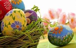 Яйца за Великден декупаж