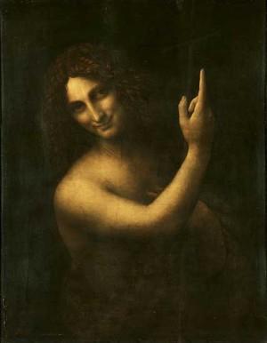 Св. Йоан Кръстител на Леонардо да Винчи