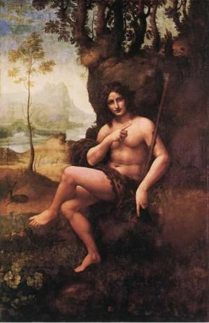 Св. Йоан Кръстител на Леонардо да Винчи 2