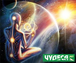 чакри и връзка с космоса