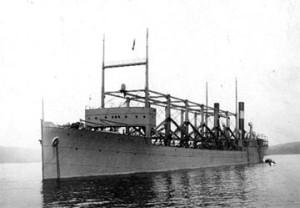 Корабът USS CYCLOPS изчезнал в загадъчния Бермудски триъгълник през 1918 г.
