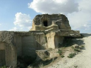 Село Кавусин в региона на Кападокия в Турция, където са правени разкопки.
