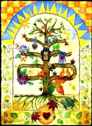 нумерология дървото на живота