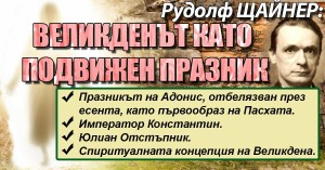 Великден Рудолф Щайнер